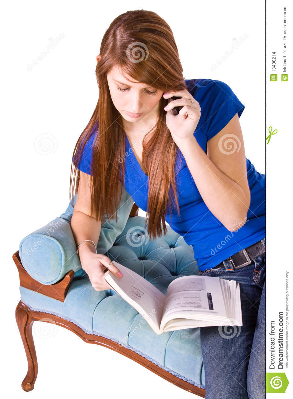 Teenager Talking On The Cell Phone Stock Images - Image ...