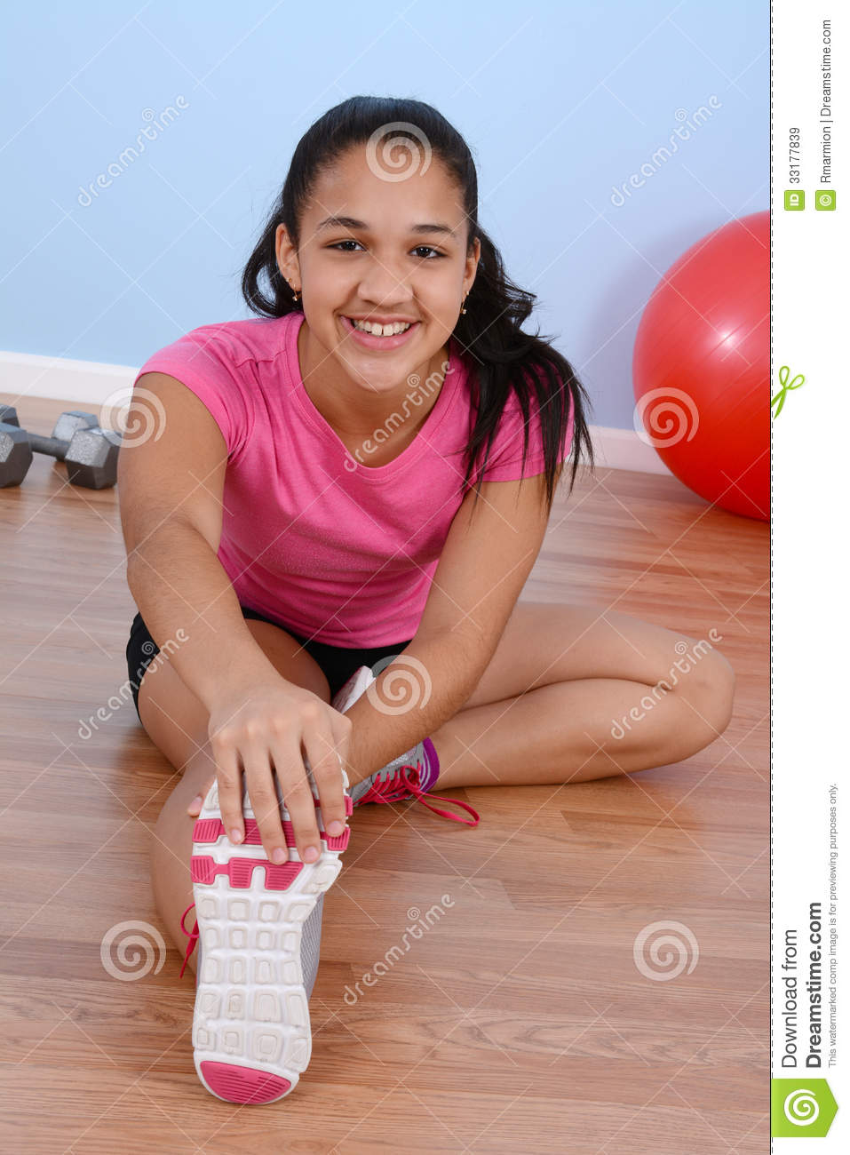 Teen Working Out 9