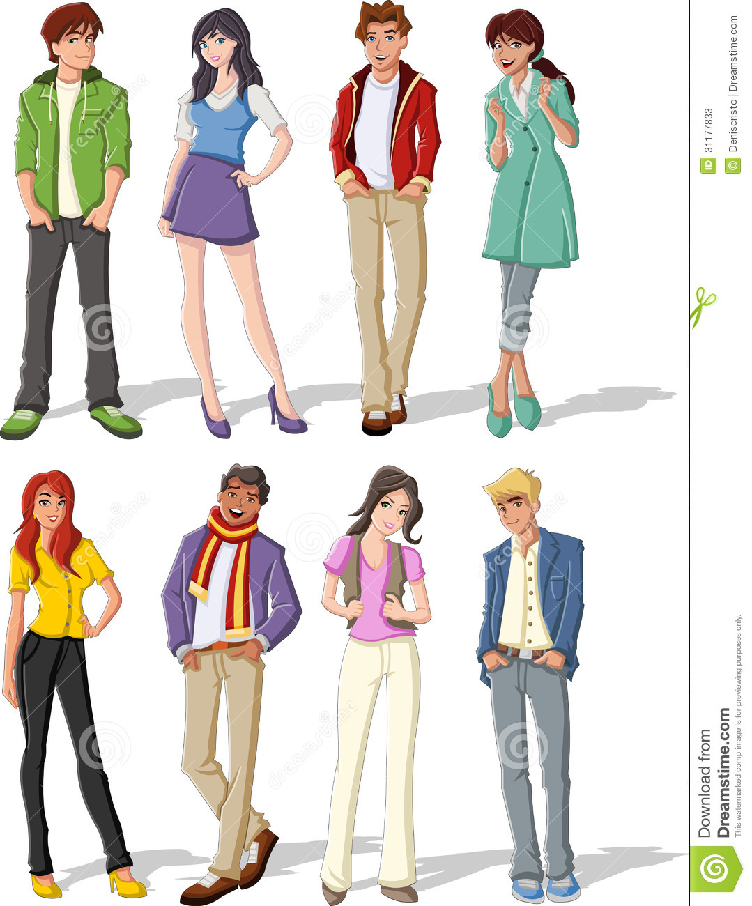 Teenagers Stock Photos Image 31177833