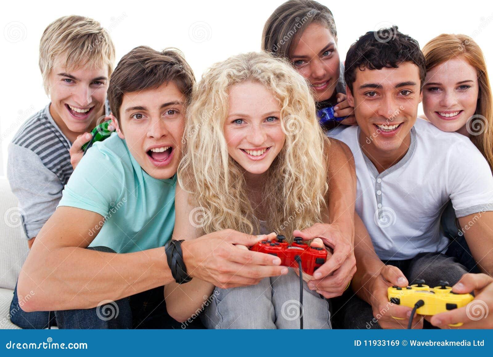 Seniors enjoying teen