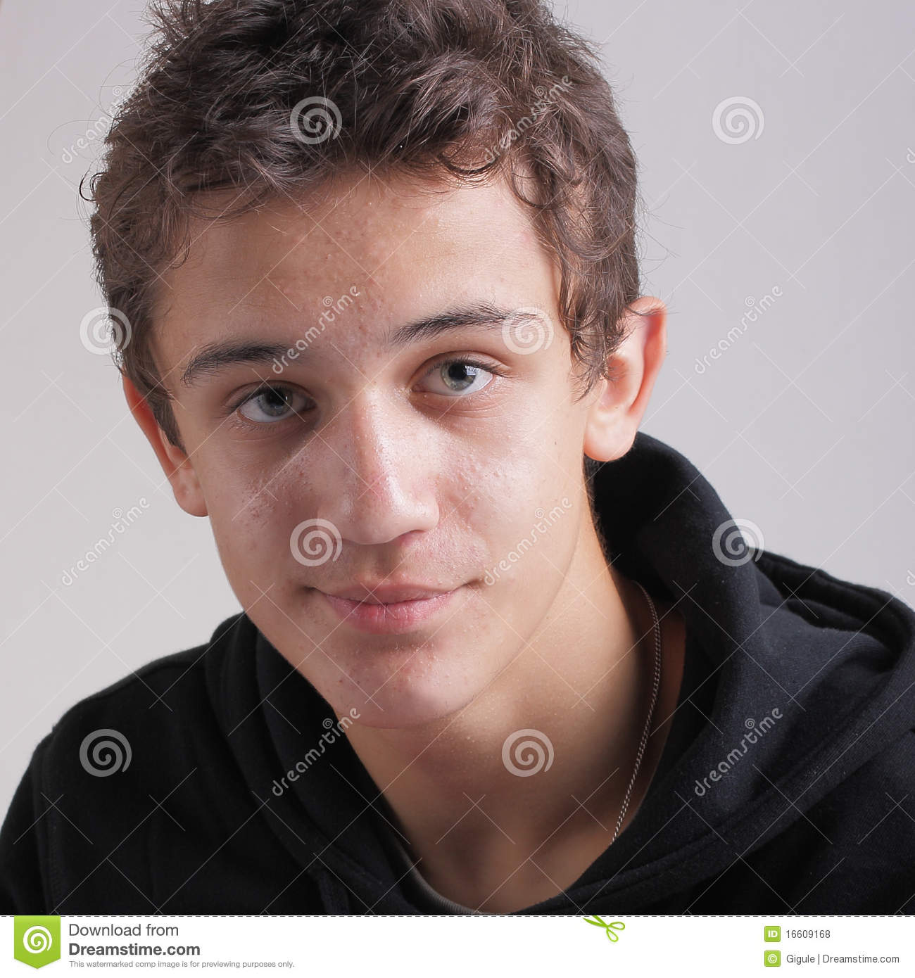 Teens And Acne Royalty Free Stock Photos - Image: 16609168