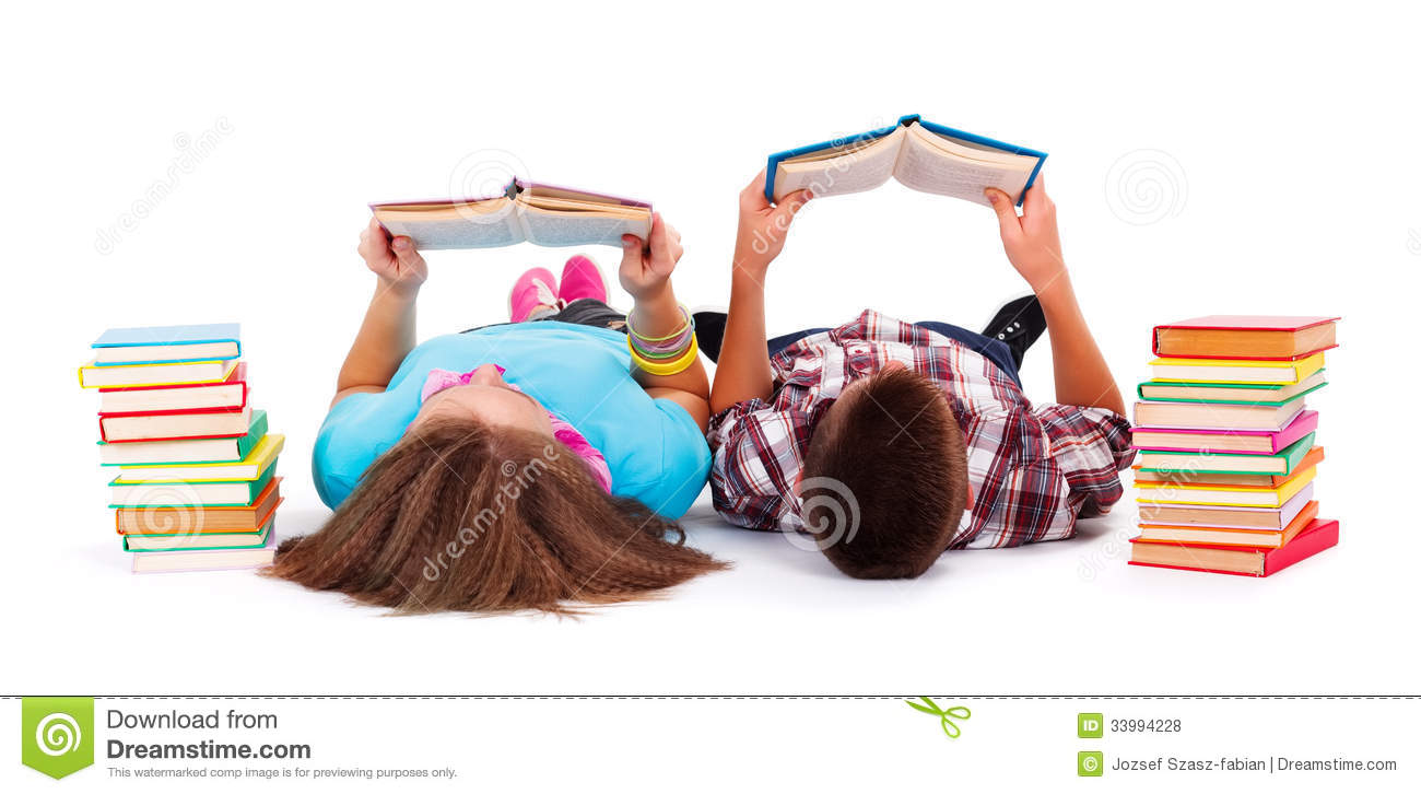 Teens Reading Books Royalty Free Stock Photos - Image ...