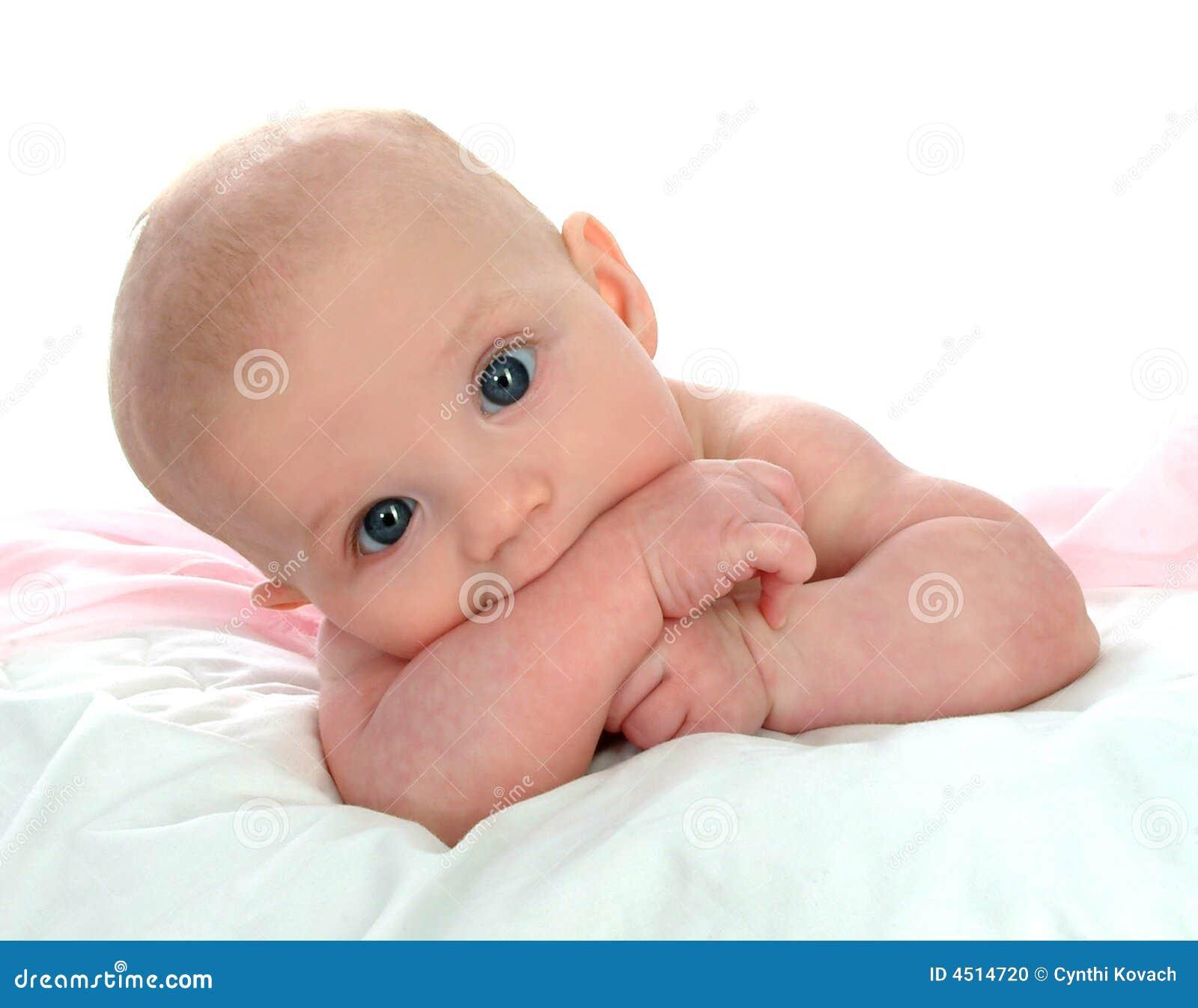 Teething младенца