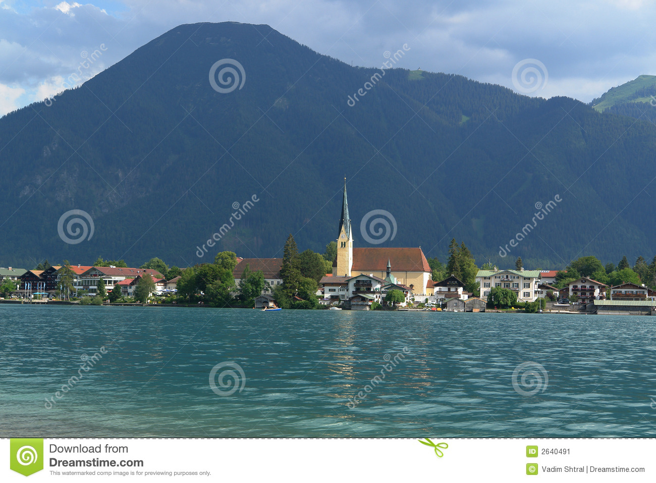 Tegernsee Germany  city photos : Tegernsee Germany , Lake in Alps , May 2007 . Small touristik town in ...