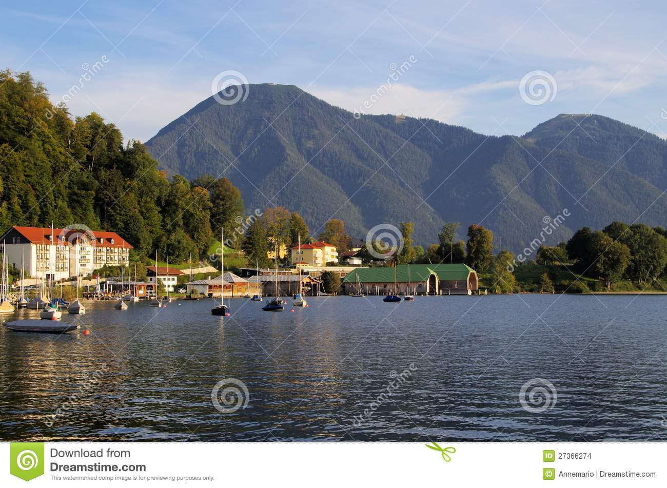 Tegernsee Germany  city photos : Tegernsee, Germany Stock Images Image: 27366274