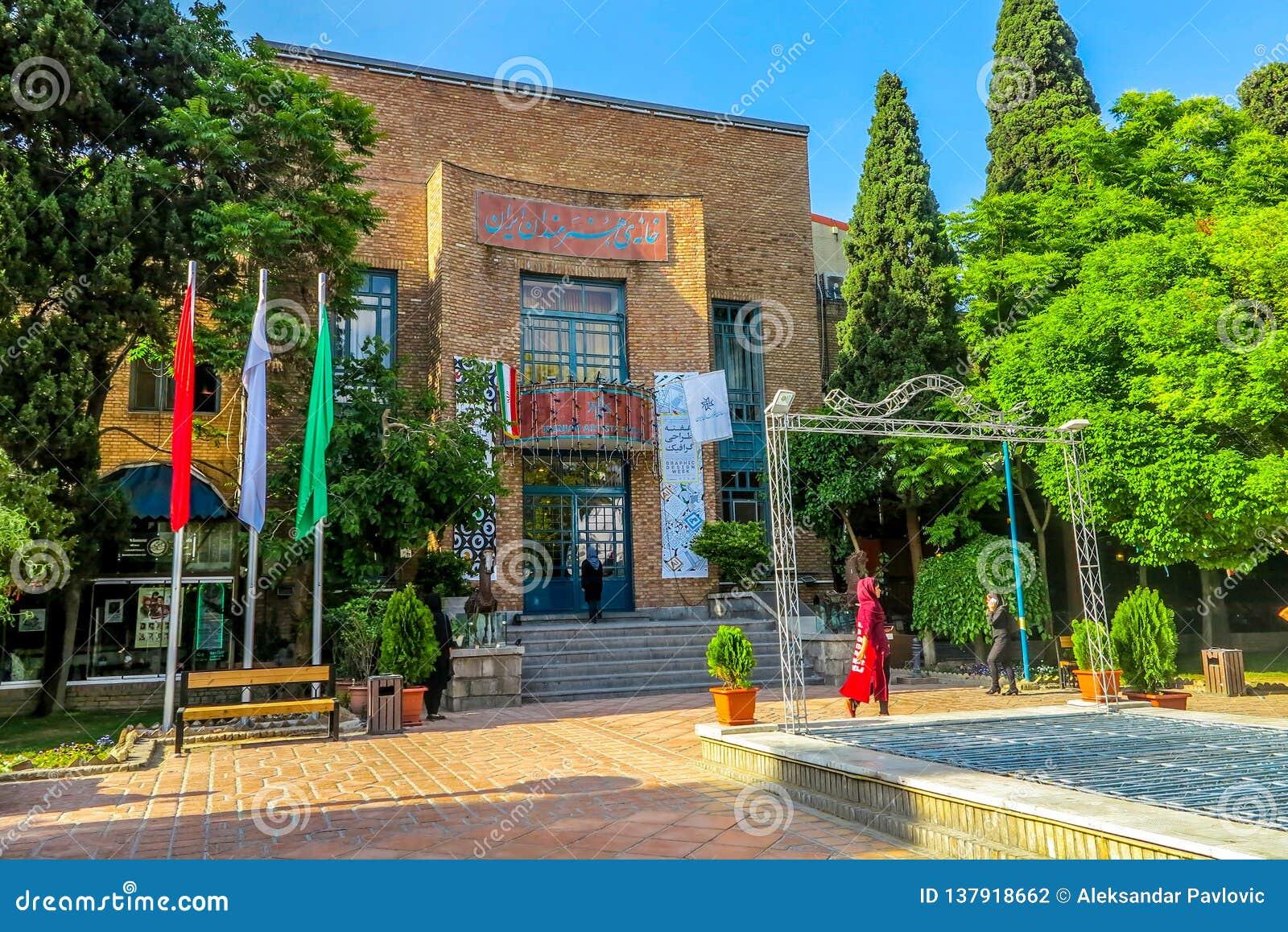 Teheran parkerar iranska konstnärer 02