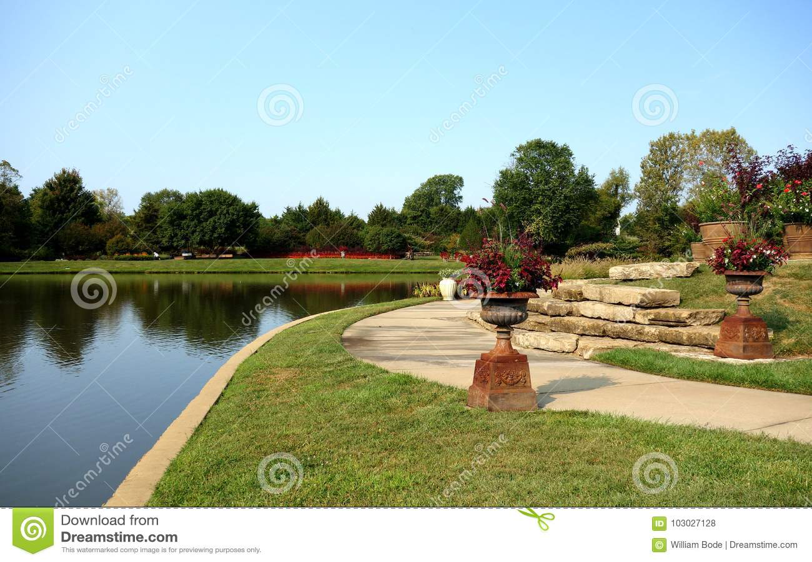 Teich am Überlandpark-Arboretum