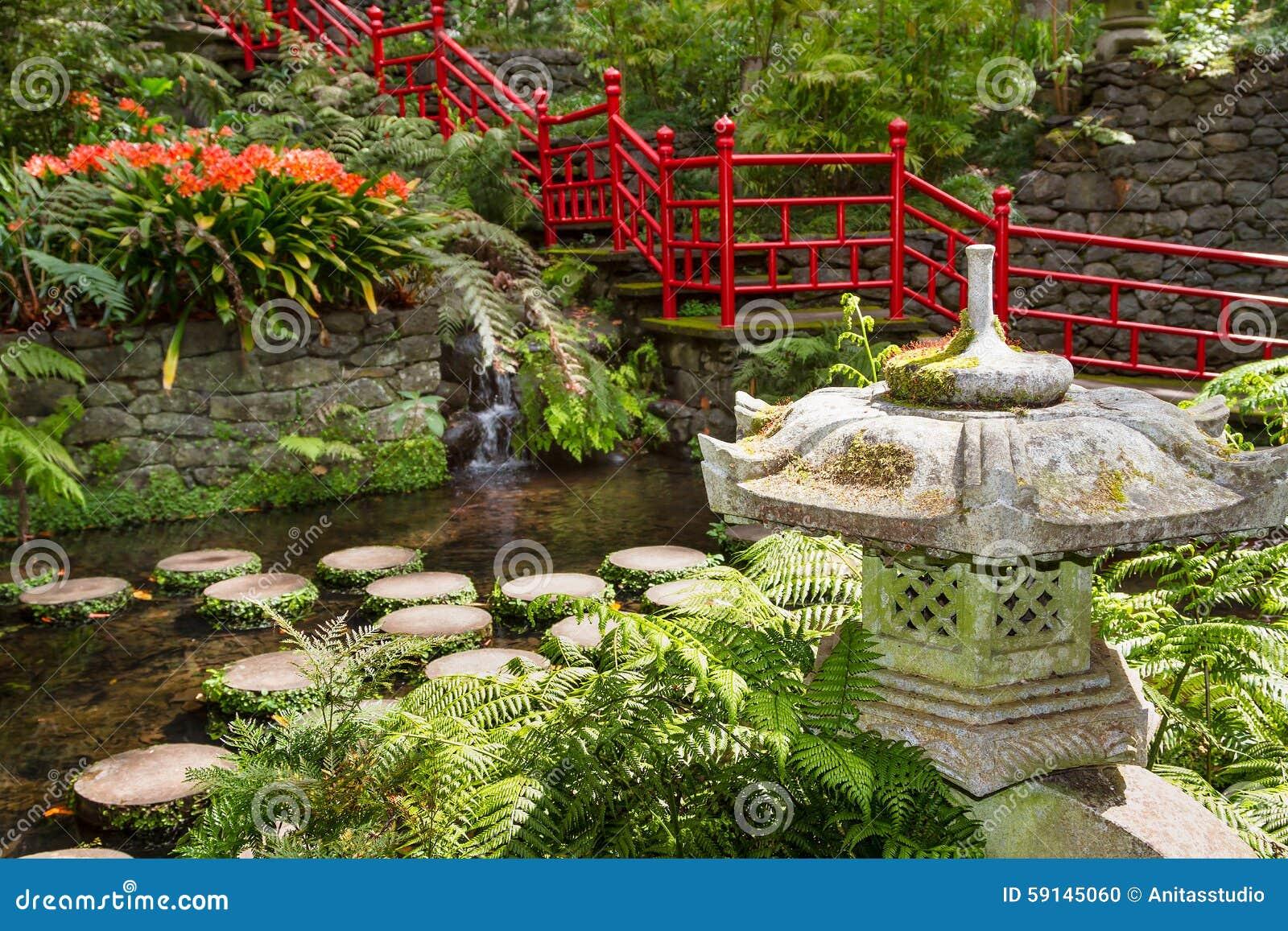 Teich Und Gartendekoration In Der Orientalischen Art Monte Palast