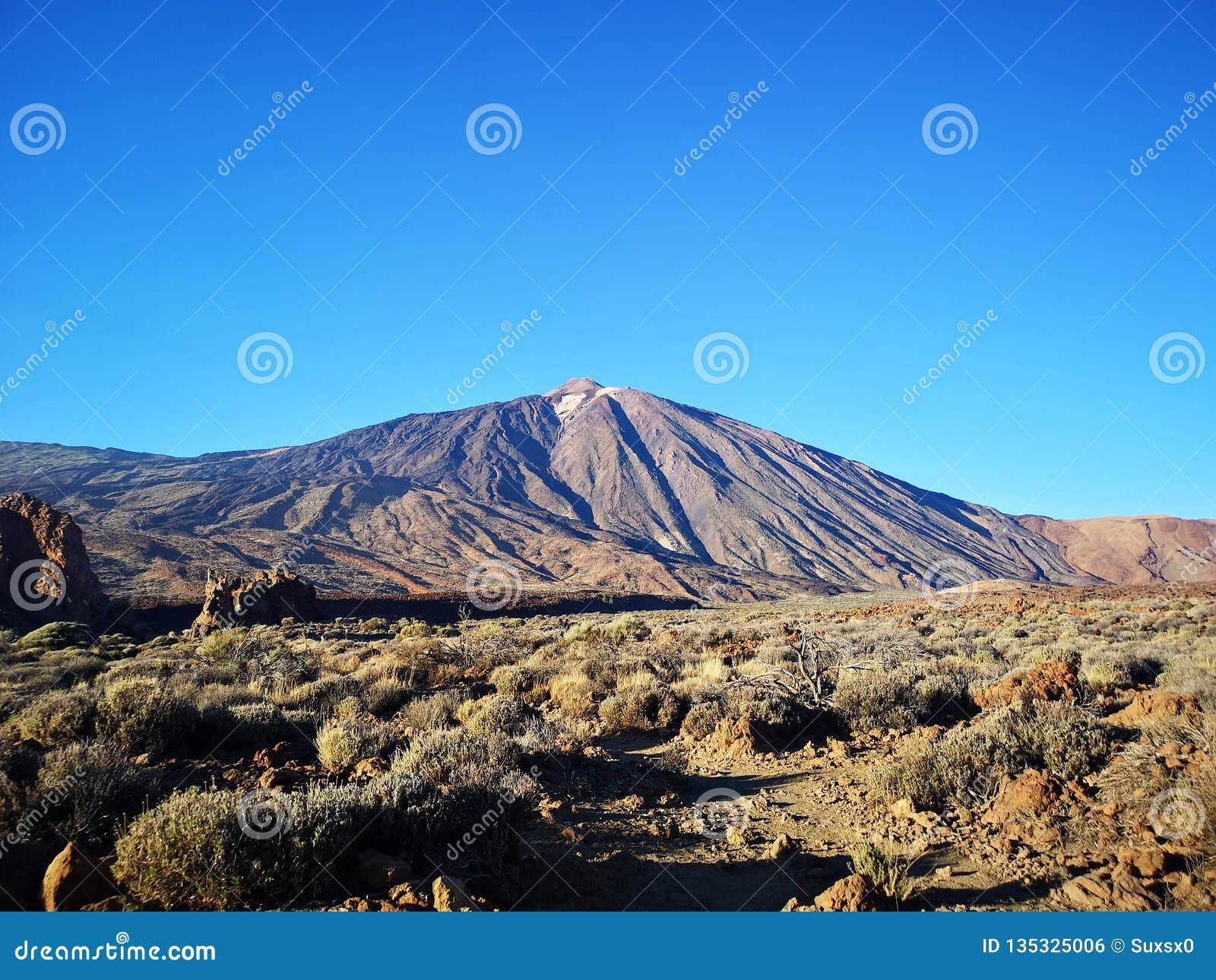 Teide da montanha da sombra