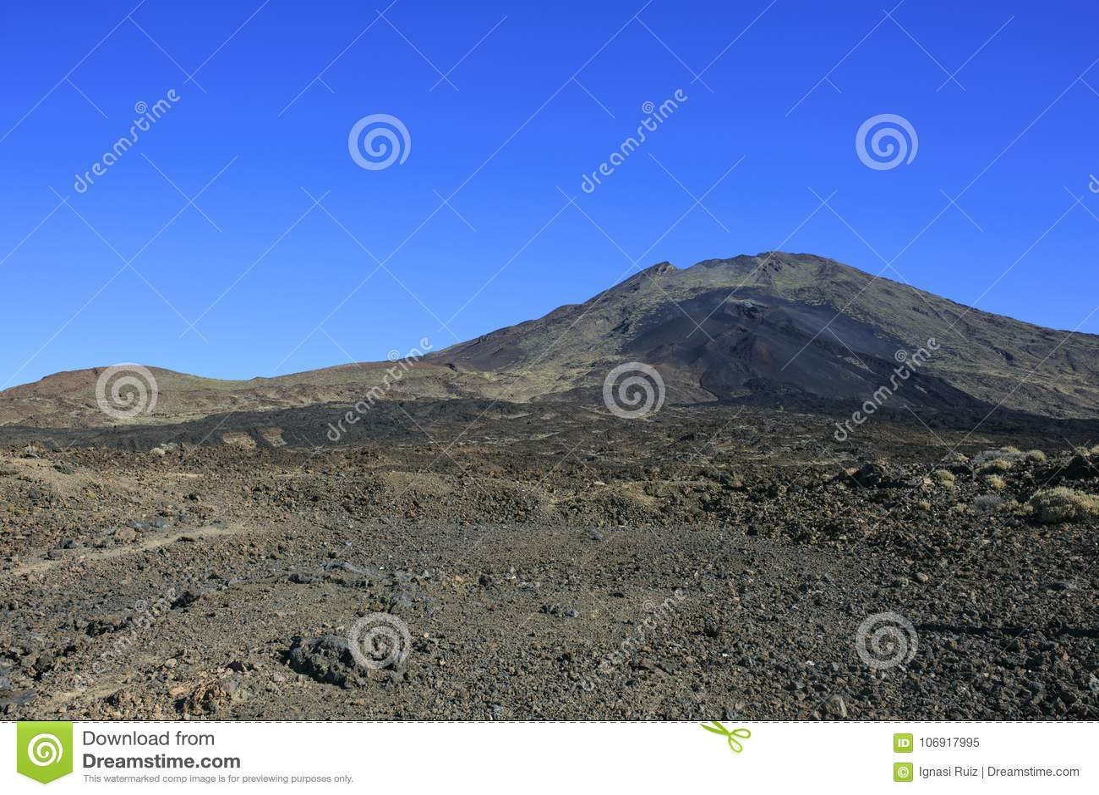 Teide góra w Tenerife wyspa kanaryjska Tenerife