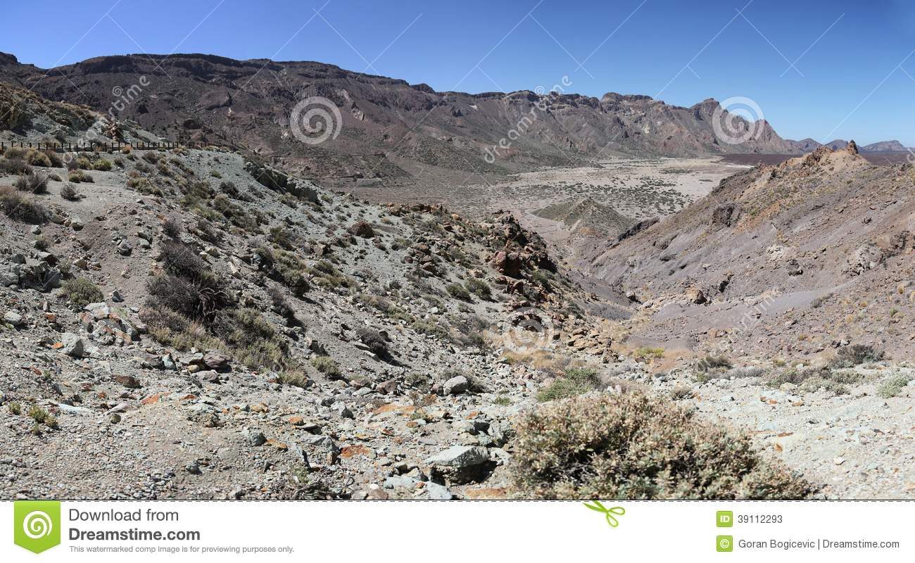 Teide Nationaal Park in Tenerife, Spanje