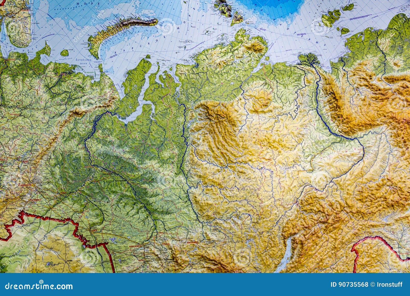 Russland In Karten Ein Link Atlas