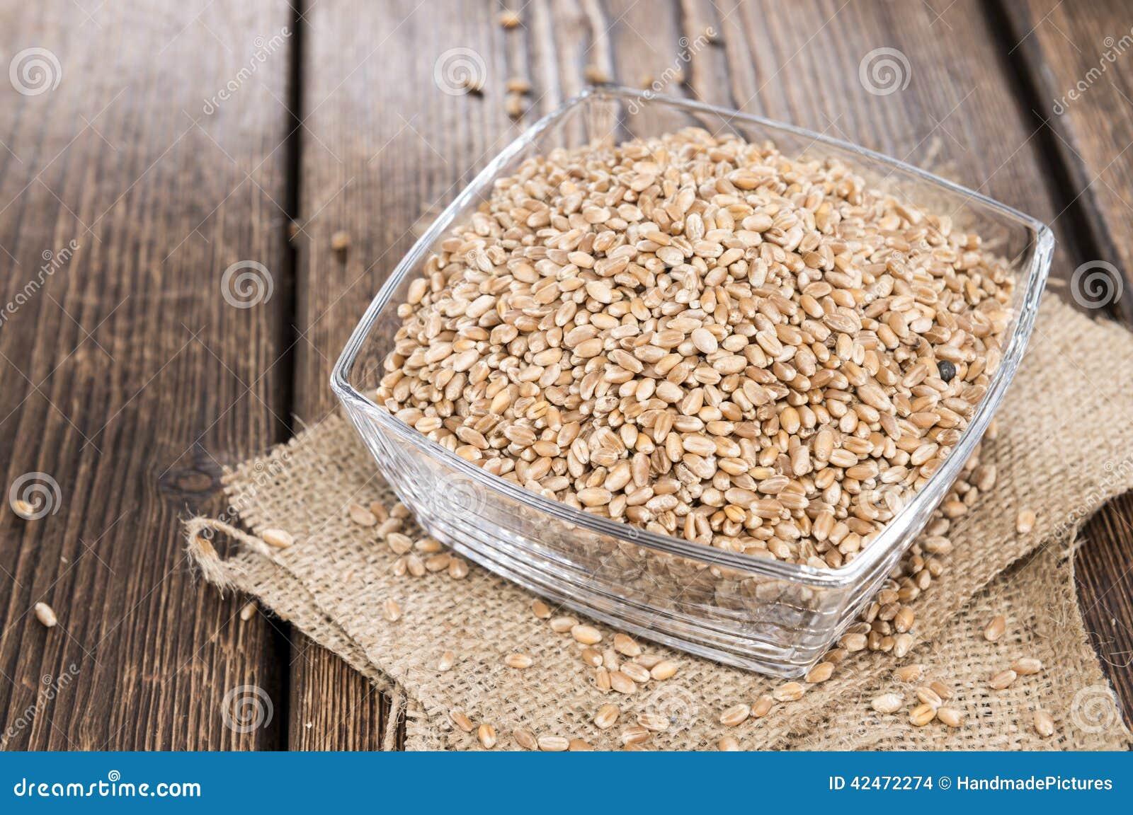 Teil Weizen-Körner