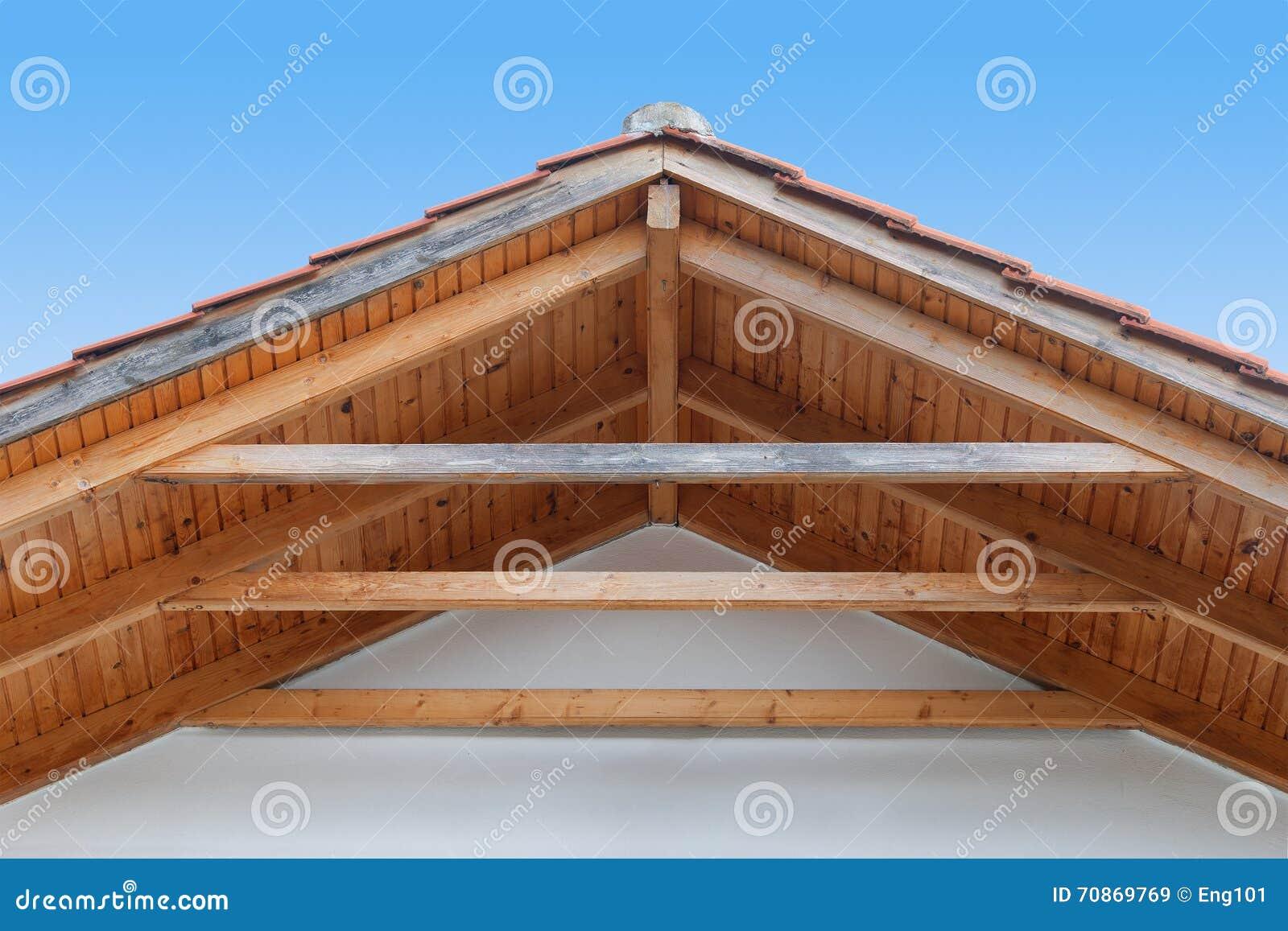 Tejado de madera amazing cubiertas y tejados madera sin - Tejado de madera ...