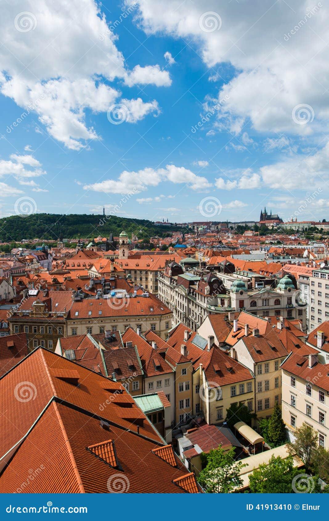 Tejados en Praga