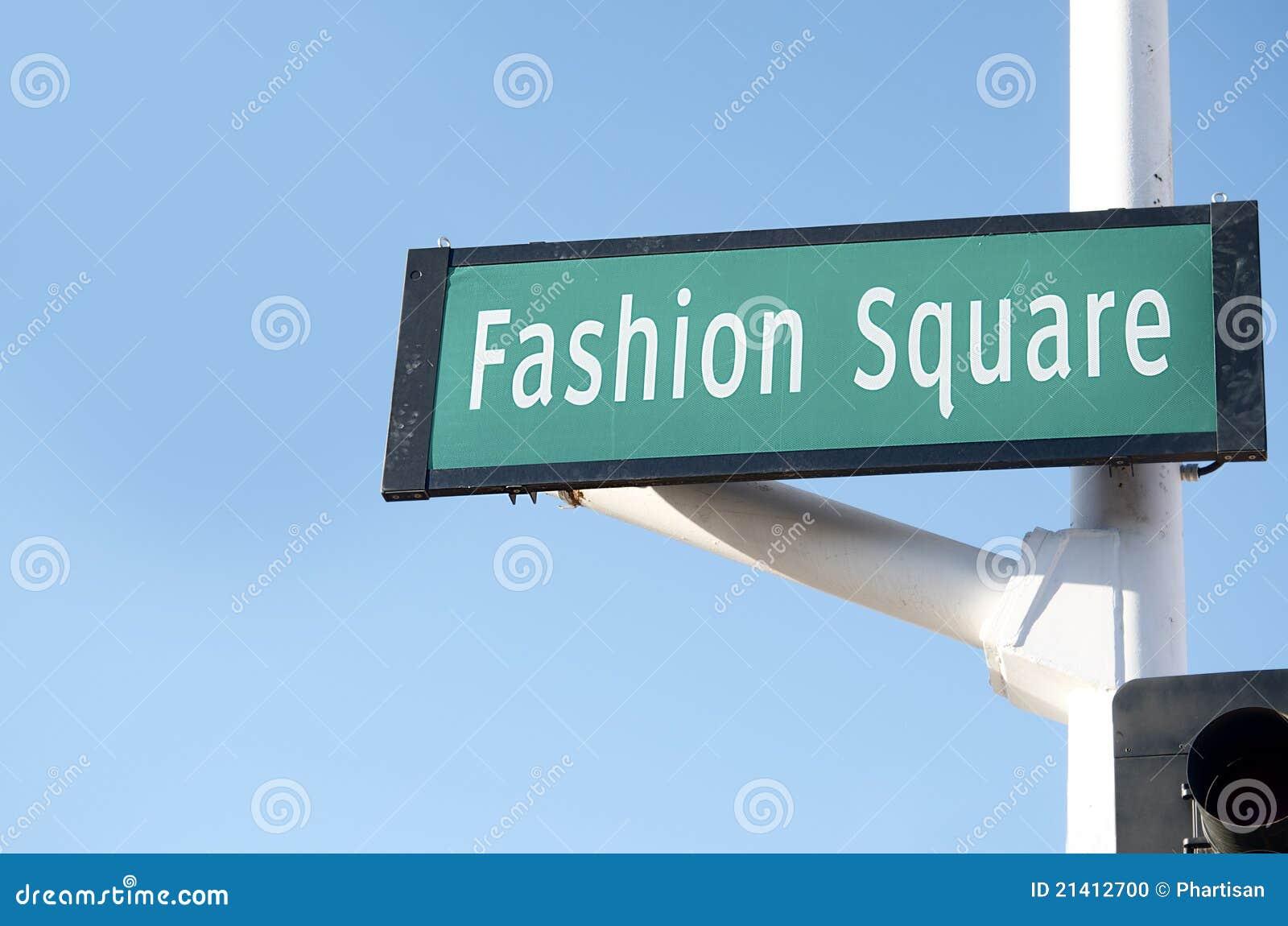 Teken van de Straat van de manier het Vierkante