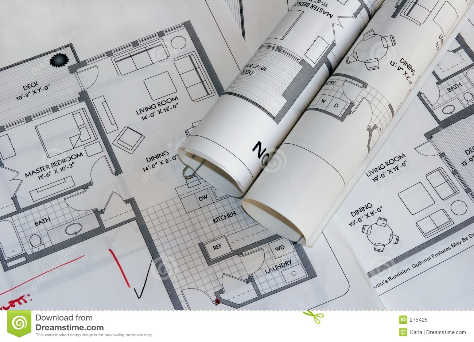 Tekeningen 2 van het plan