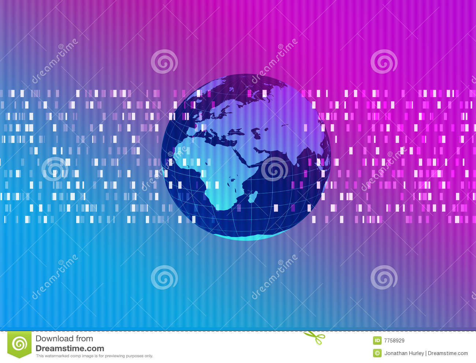 Teknisk värld för abstrakt bakgrund