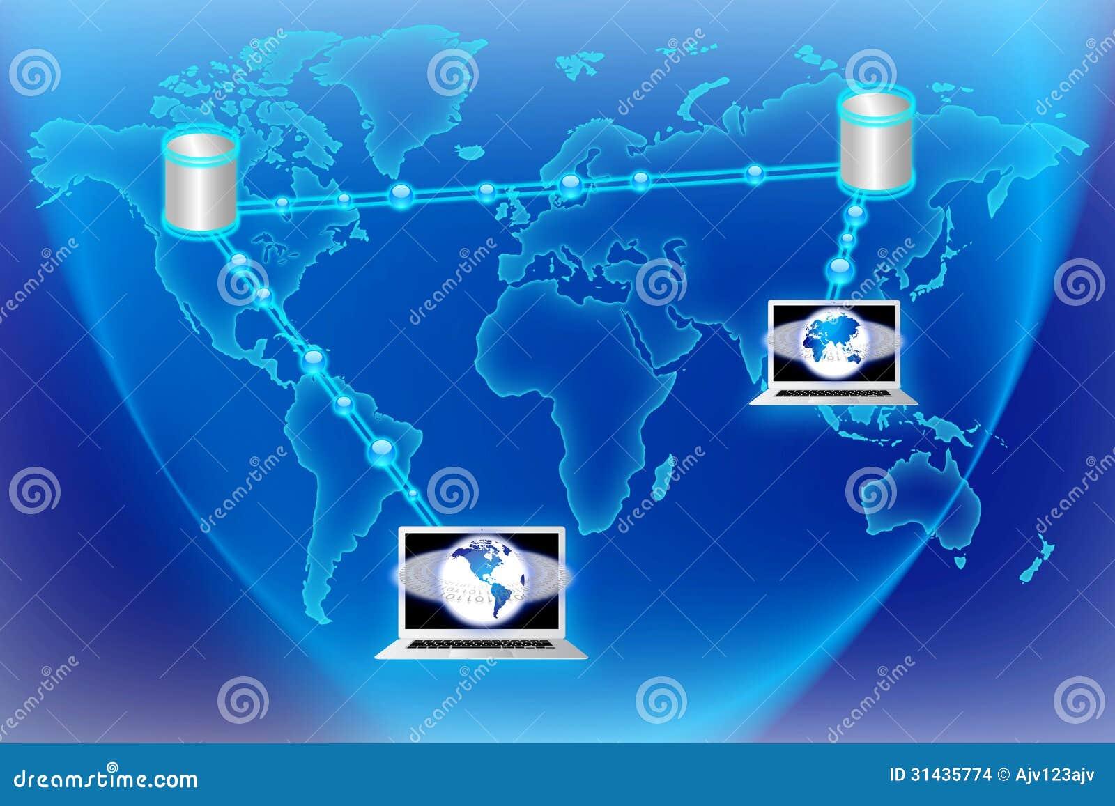 Teknologi för världsdataström