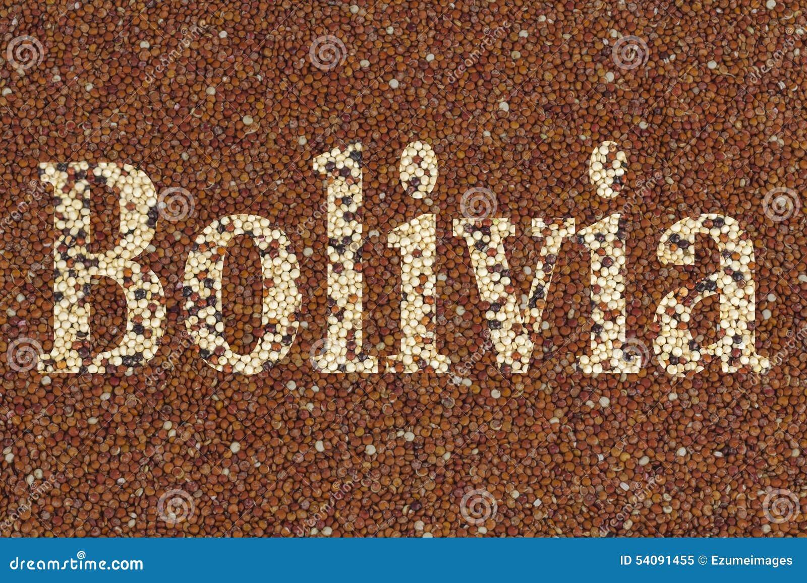 Tekst Bolivië