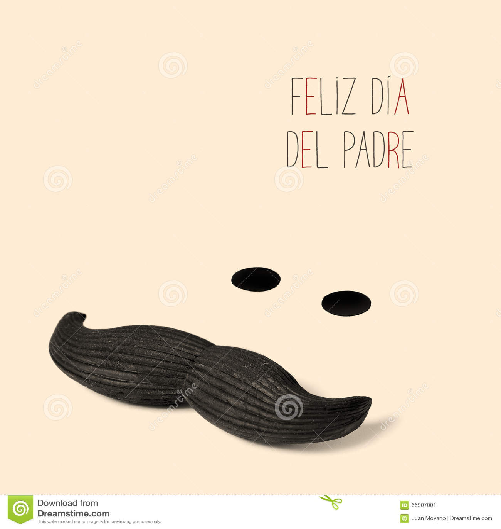 Tekst feliz dia del padre, gelukkige vadersdag in het Spaans