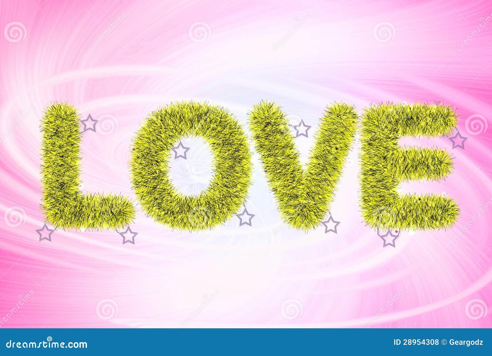 Tekst miłość z świecidełko wzorem