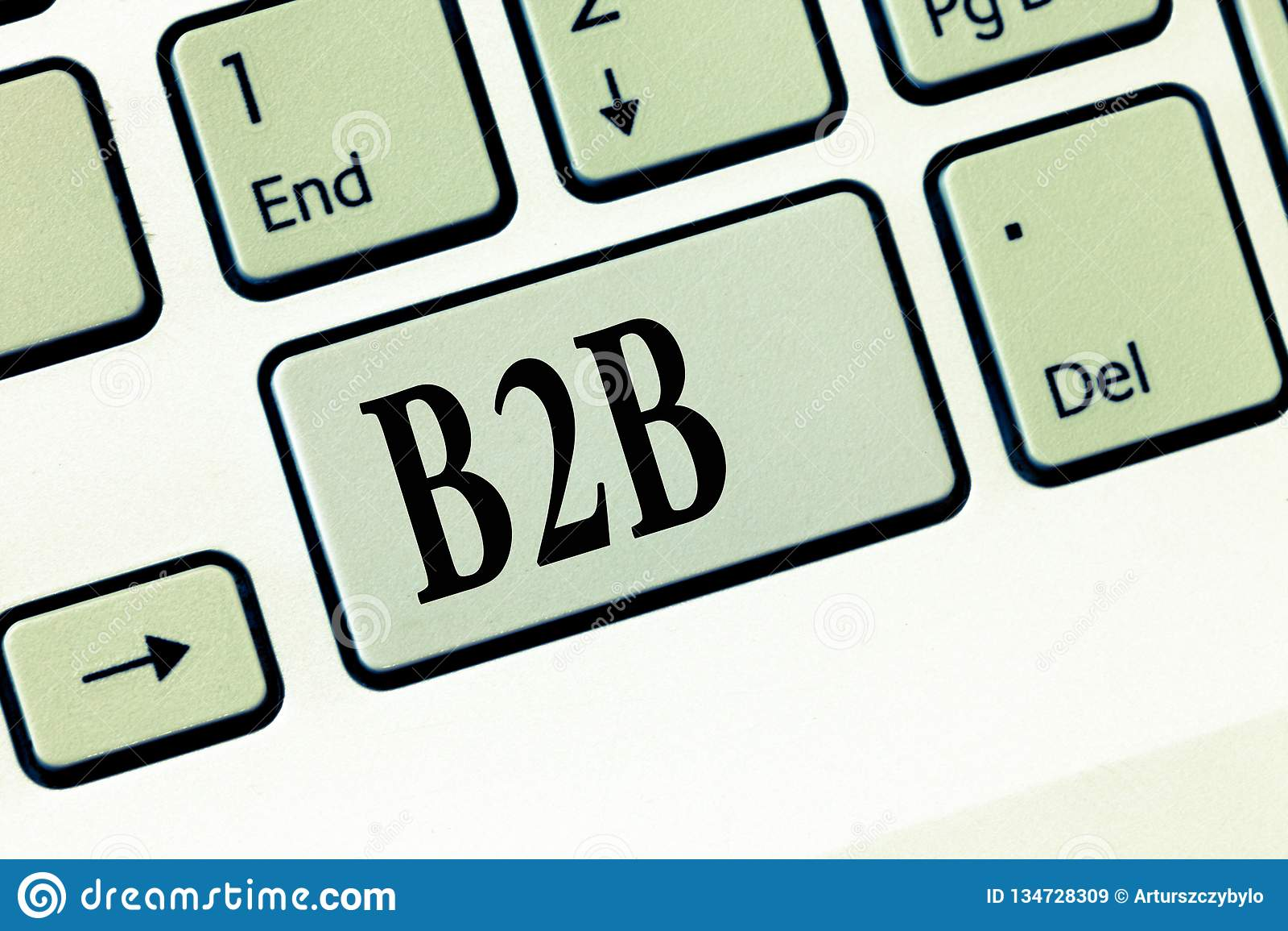 Tekst szyldowy pokazuje B2B Konceptualna fotografii wymiana produkt usługa informacja między biznesów E handlem