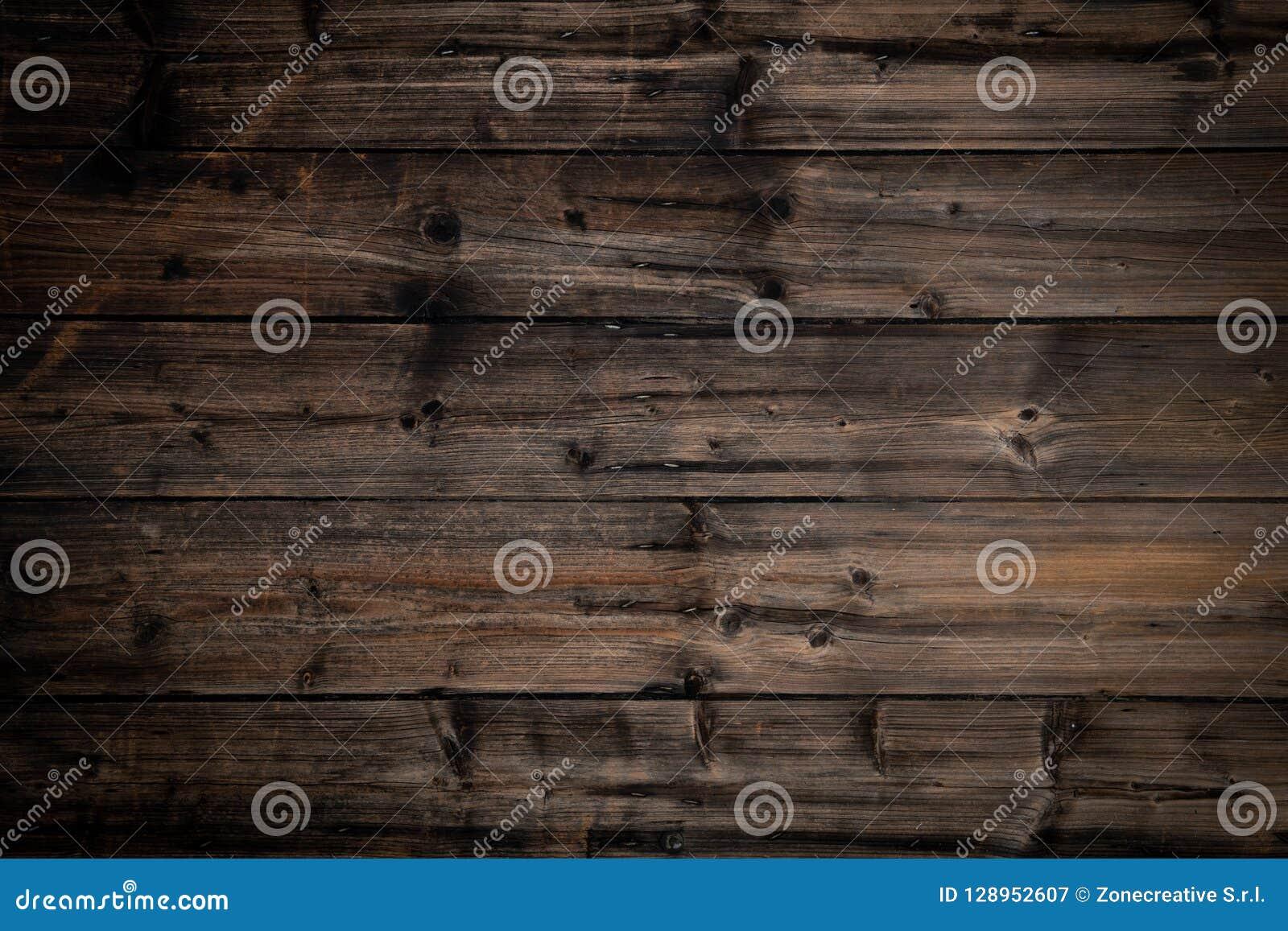 Teksta lub logo kopii pusta przestrzeń w pionowo odgórnego widoku rocznika ciemnym drewnie Natura, ekologia, retro ogólnospołeczn