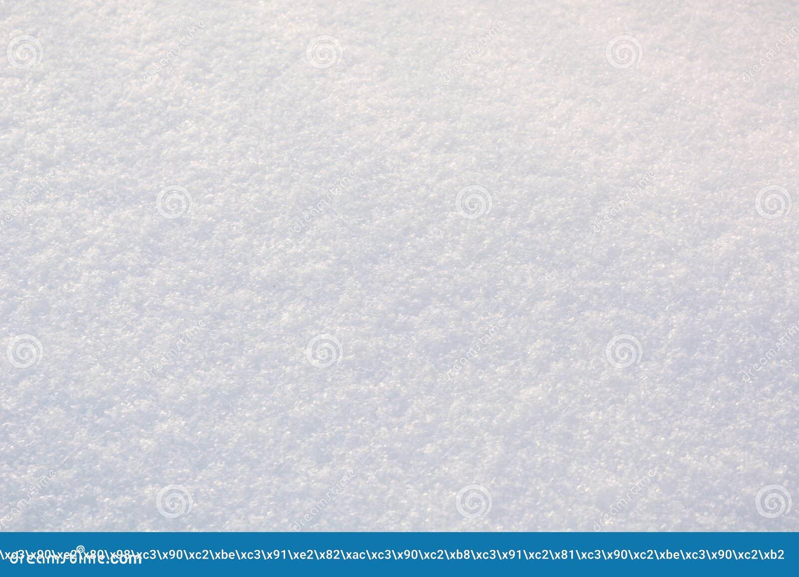 Tekstura śnieg Tło śnieg Biały czysty