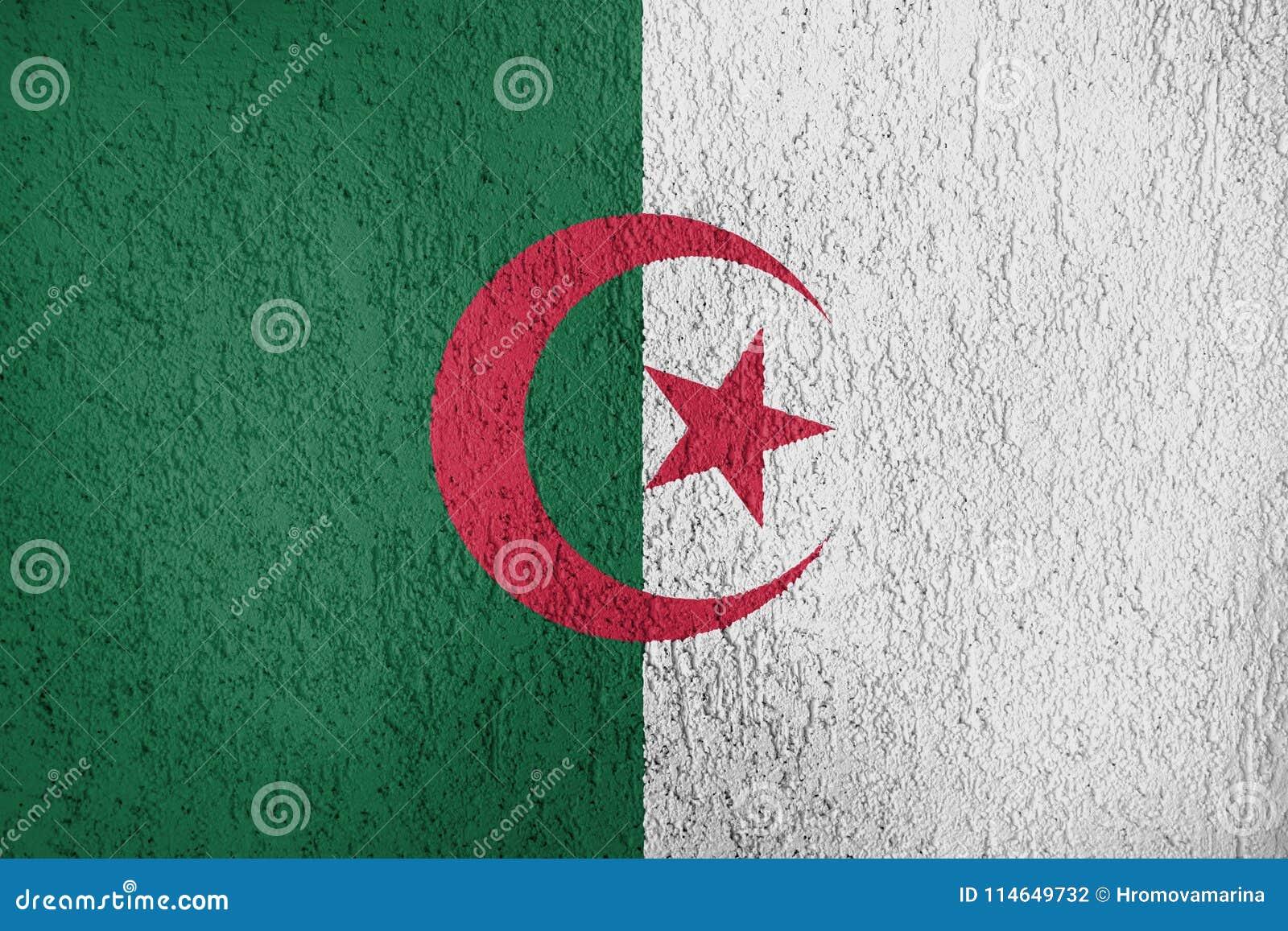 Tekstura Algieria flaga