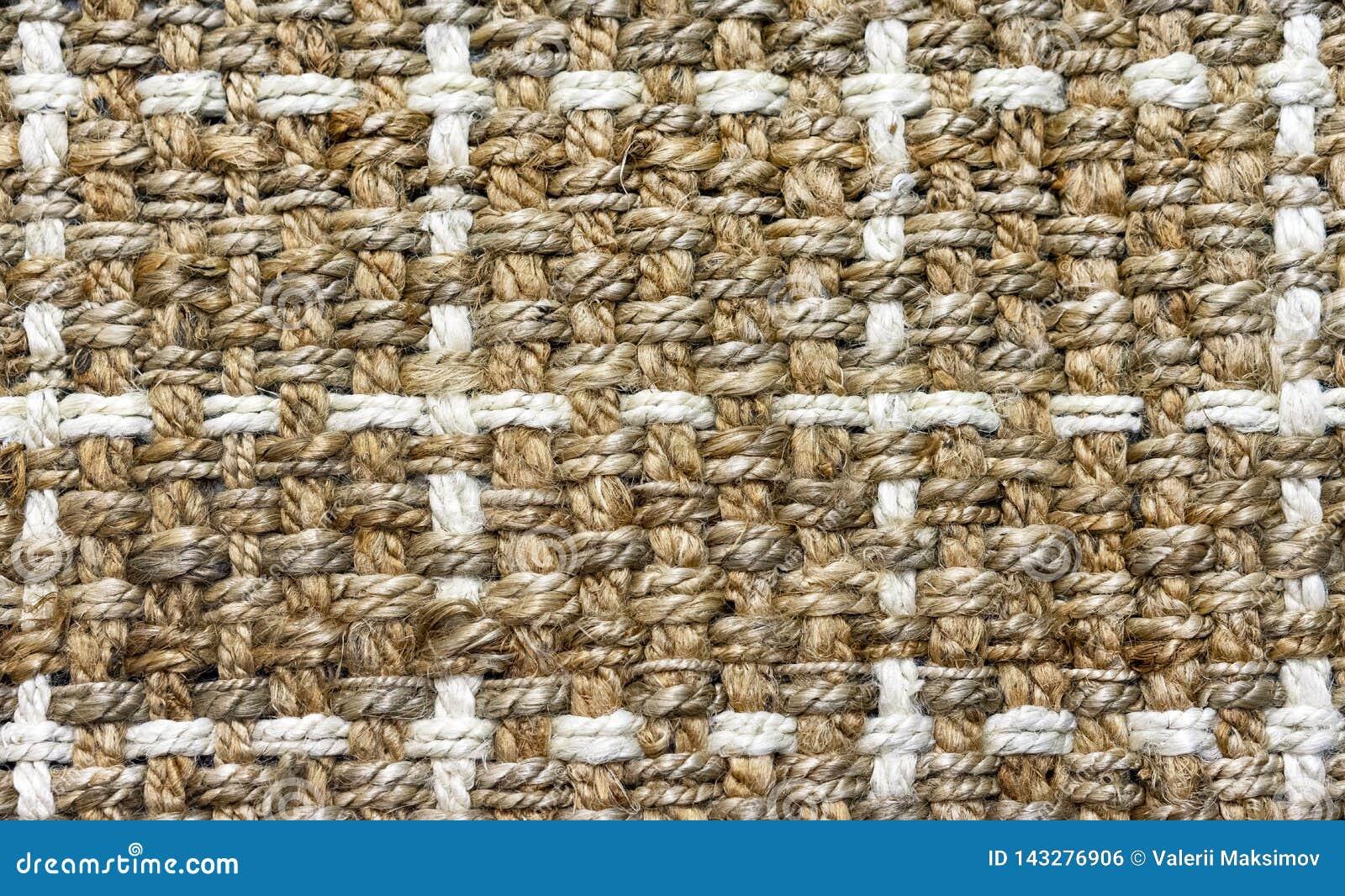 Tekstura dywanik prostacki włókno tło dla projekta i dekoraci