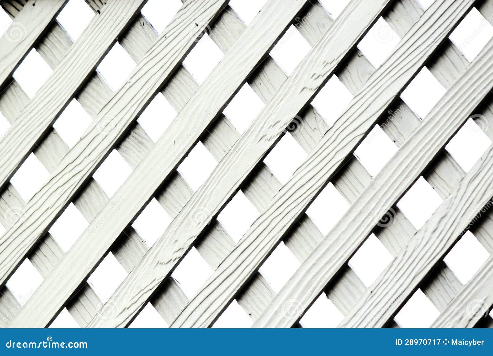 Tekstura Sztuczny Drewniany kratownicy ogrodzenie