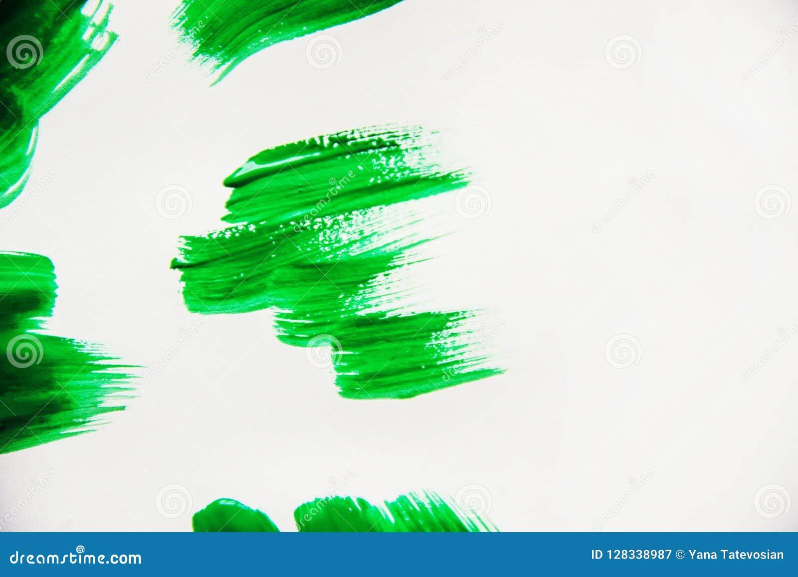Tekstury farba na białym tle Selekcyjna ostrość