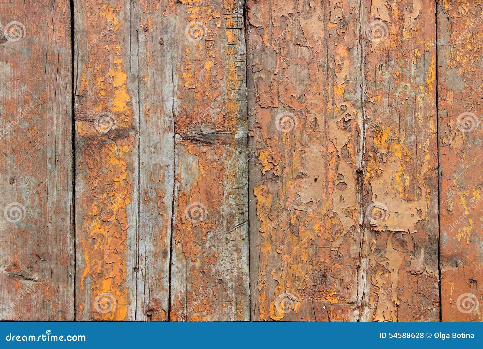 Tekstury stary drewno z farbą
