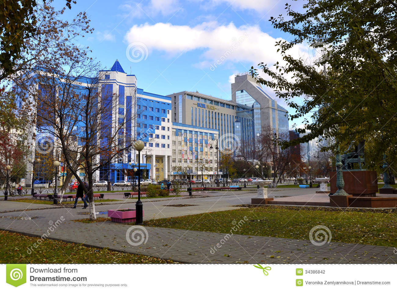 Tyumen Russia  city pictures gallery : ... of Gazoil Plaza, business center and office building. Tyumen, Russia