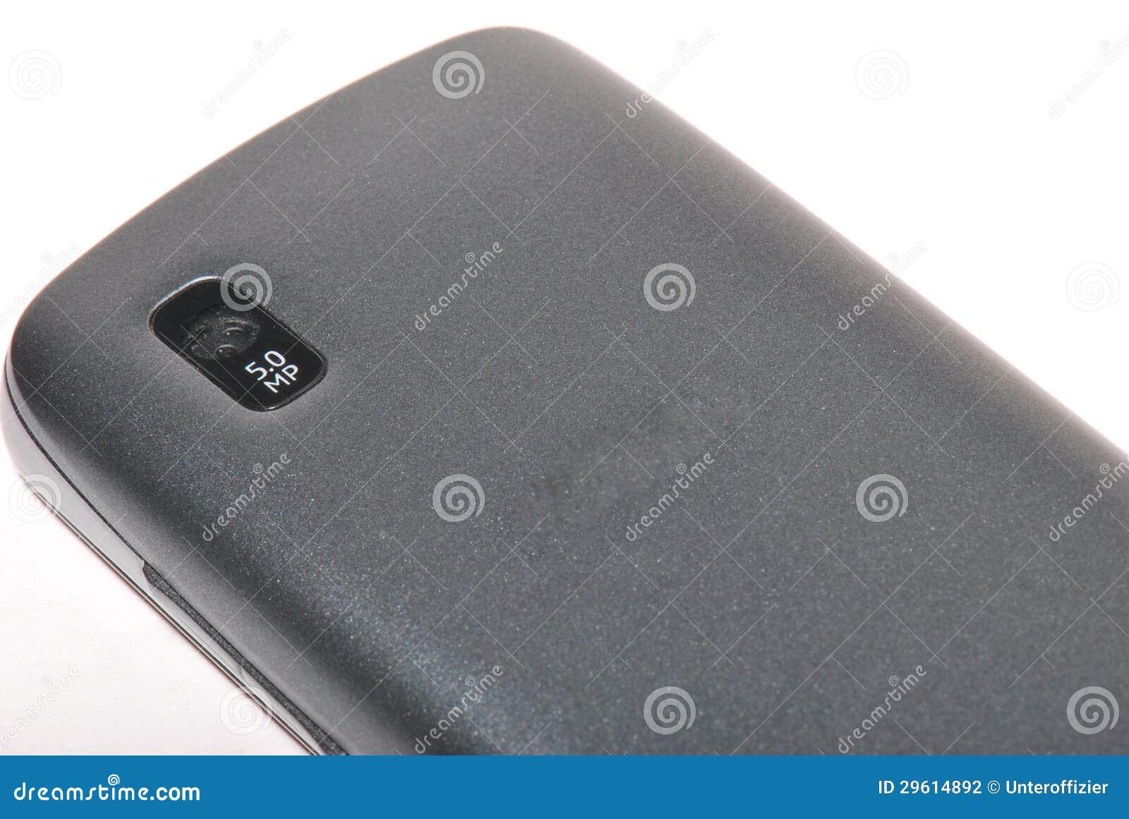 Teléfono móvil con la cámara