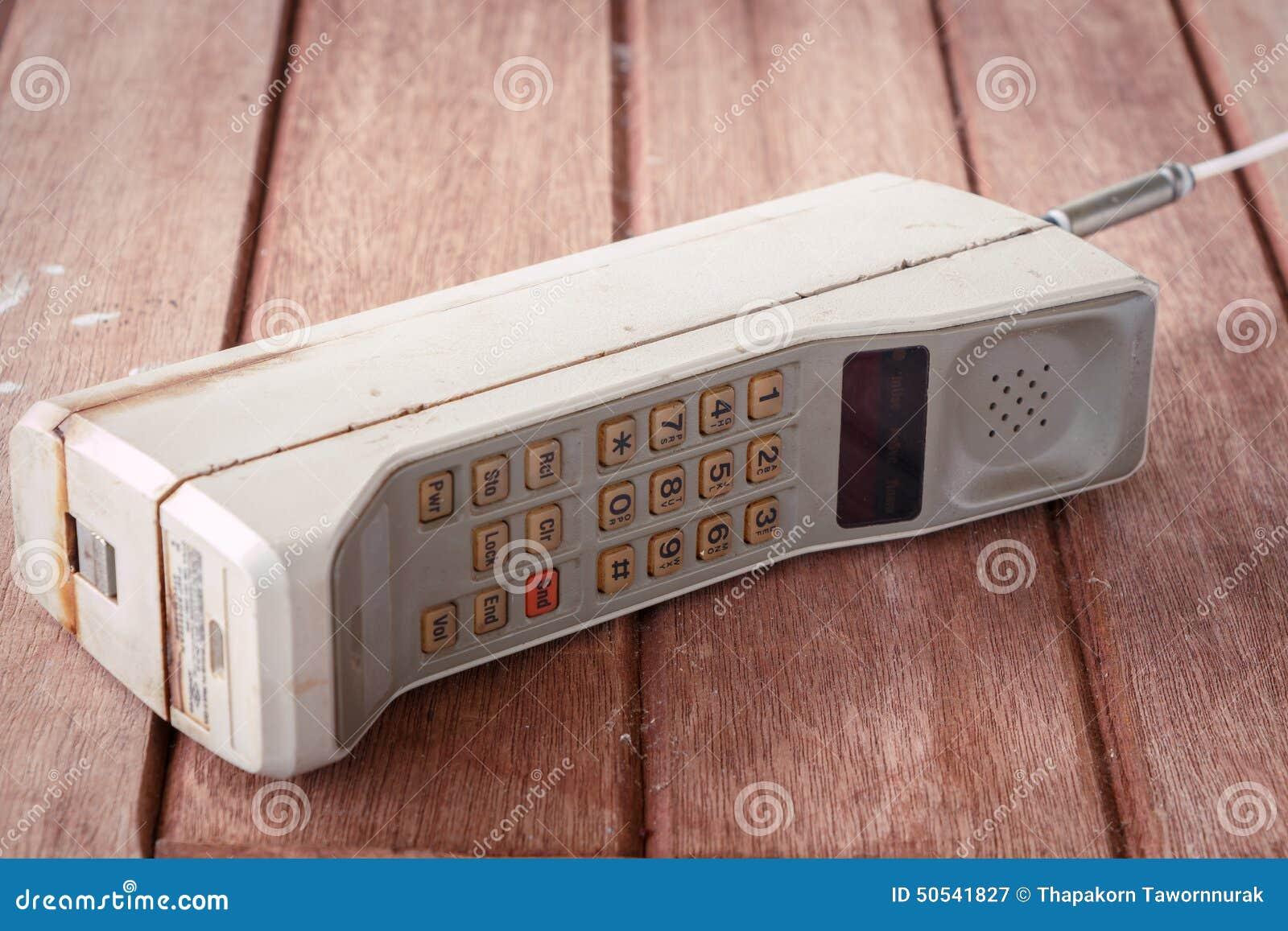 Teléfono móvil del vintage