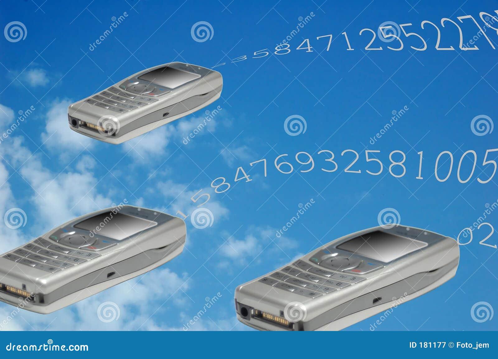 Teléfonos del vuelo