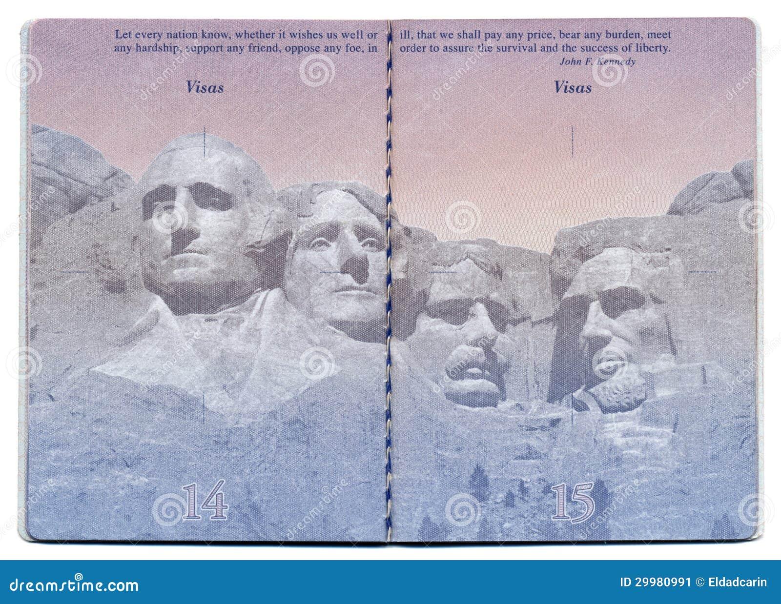 Travel Info Center Indian Passport Blank Passport Pages