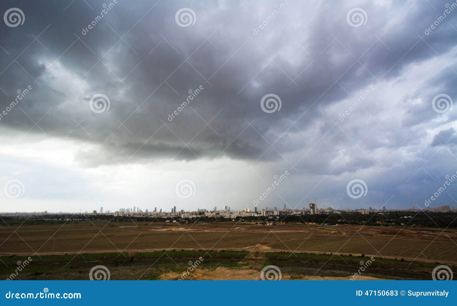 Tel Aviv och Ramat Gan