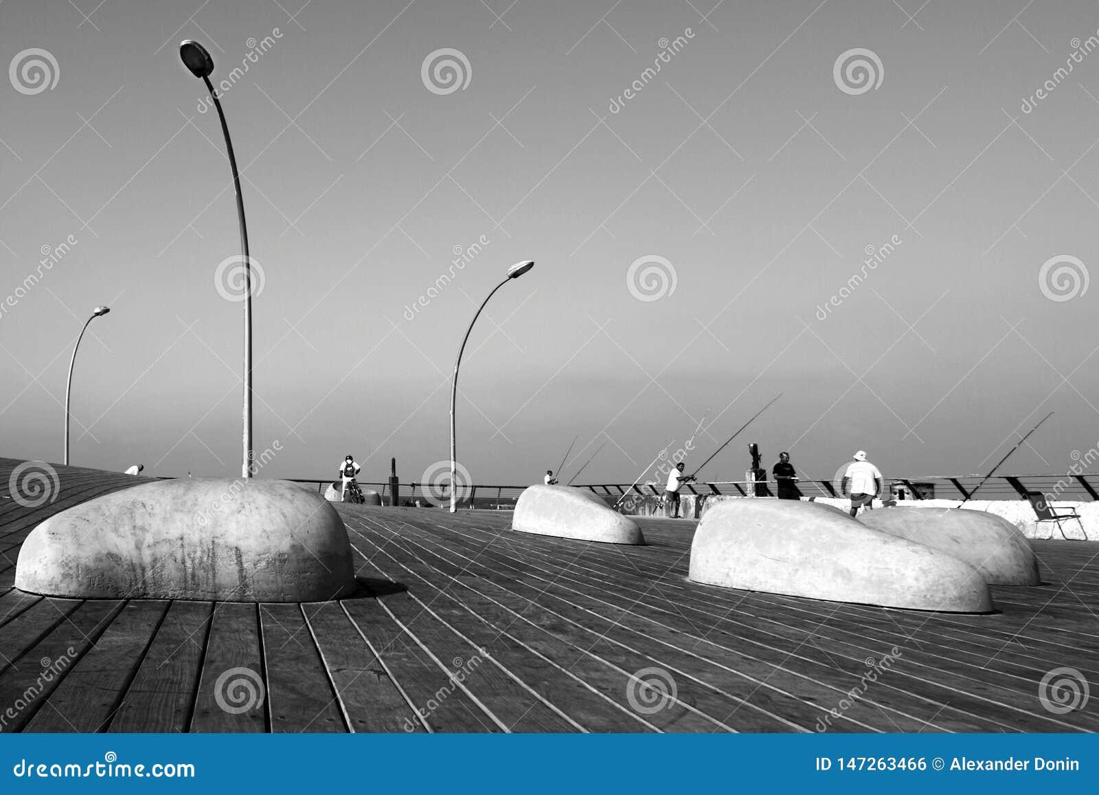 Tel Aviv port promenade, urban design