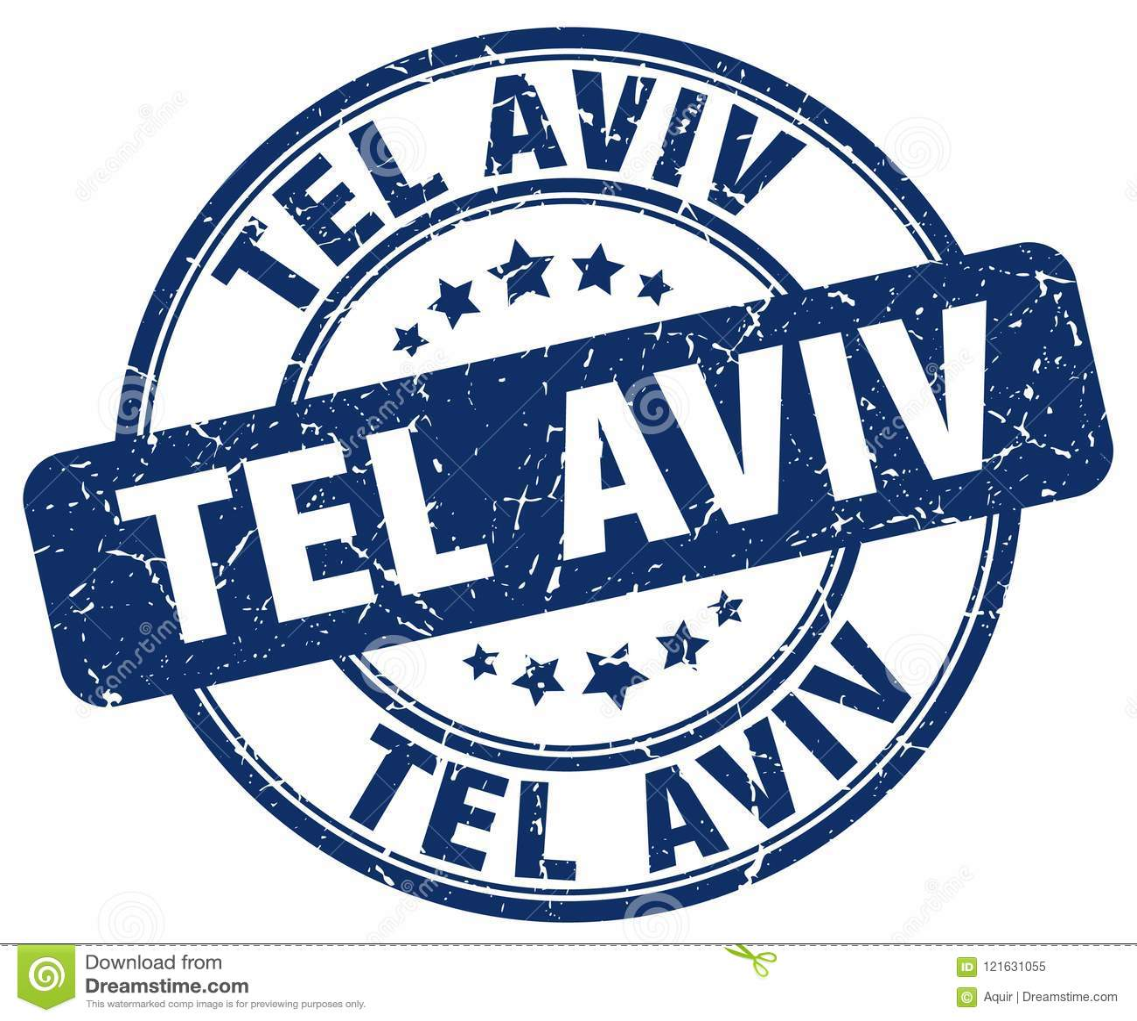 Tel Aviv stamp