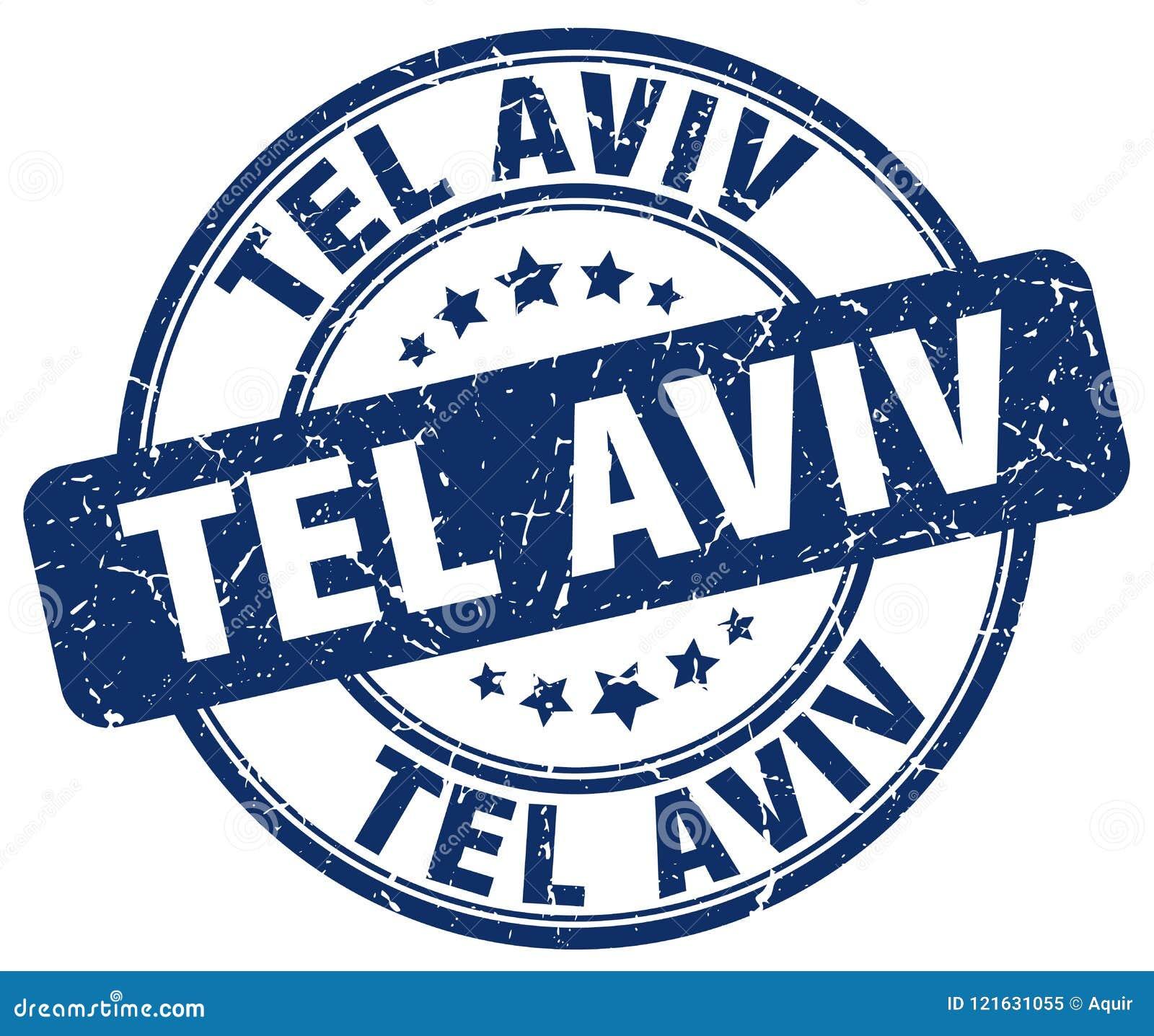 Tel Aviv stämpel