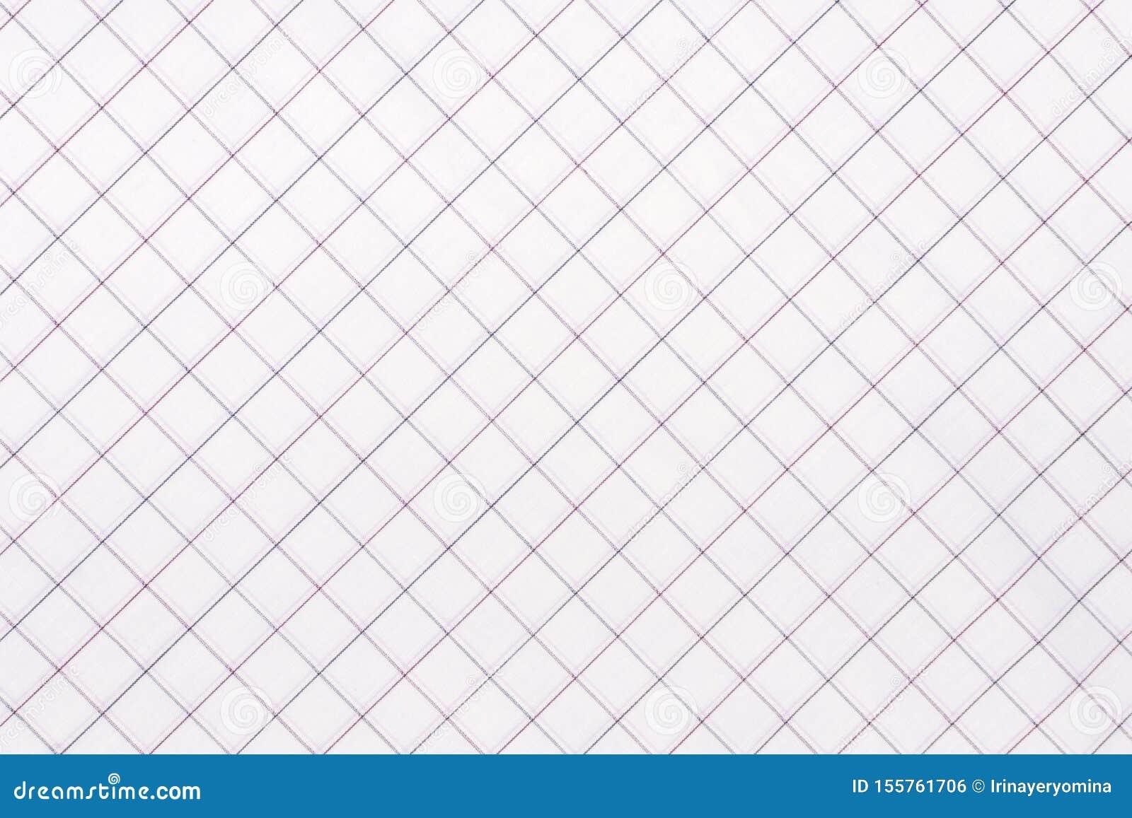 Tela a cuadros diagonal Primer a cuadros blanco y azul claro de la tela, textura del mantel
