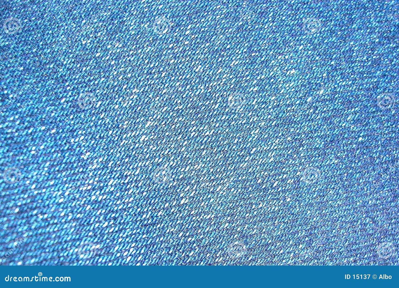 Tela das calças de brim