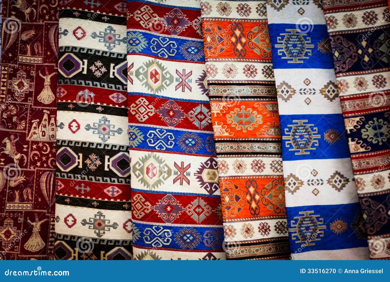 Tela de la manta de Turquía