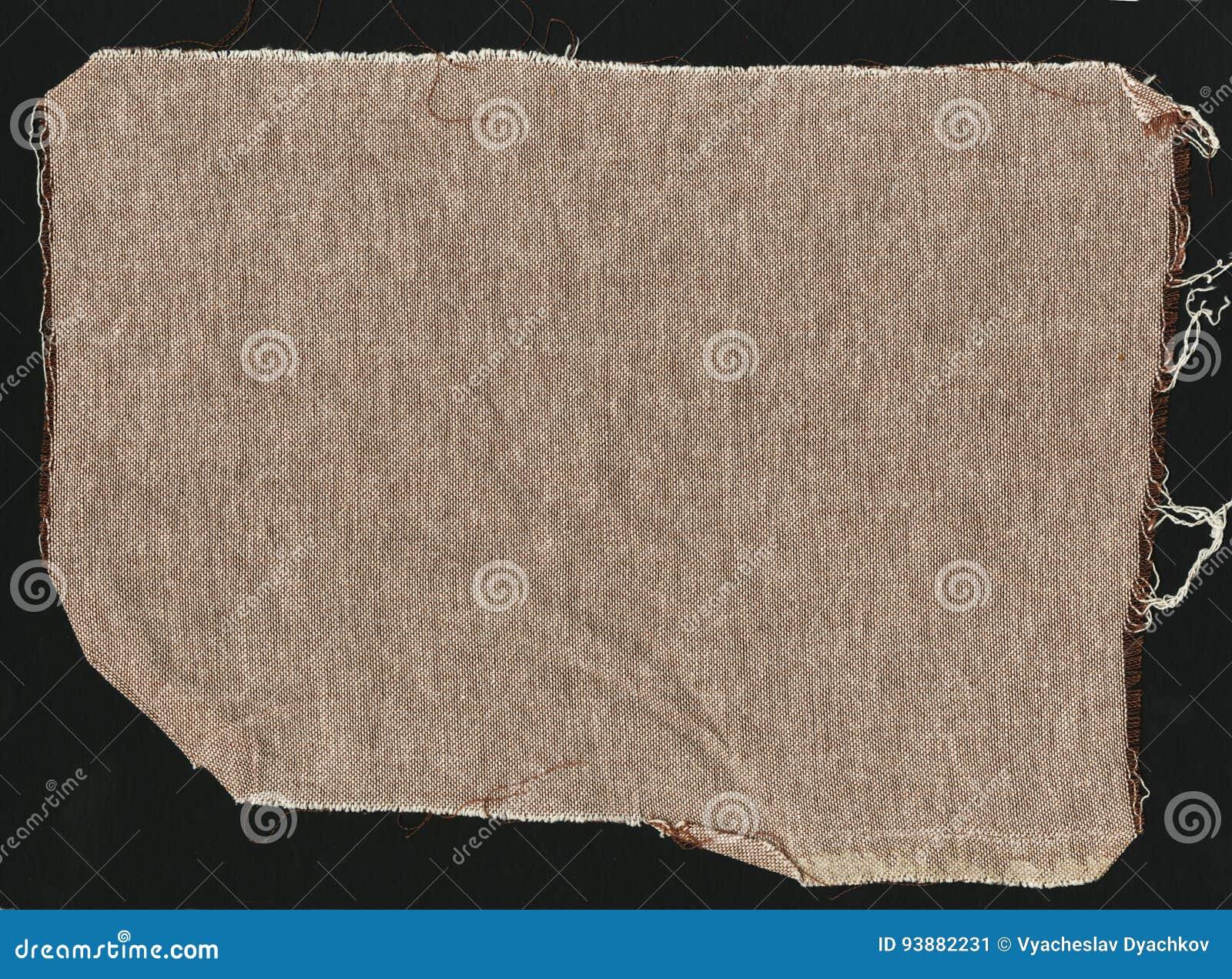 Tela De Lino Gruesa Simple Natural De Brown - Lona Textura Del Fondo ...