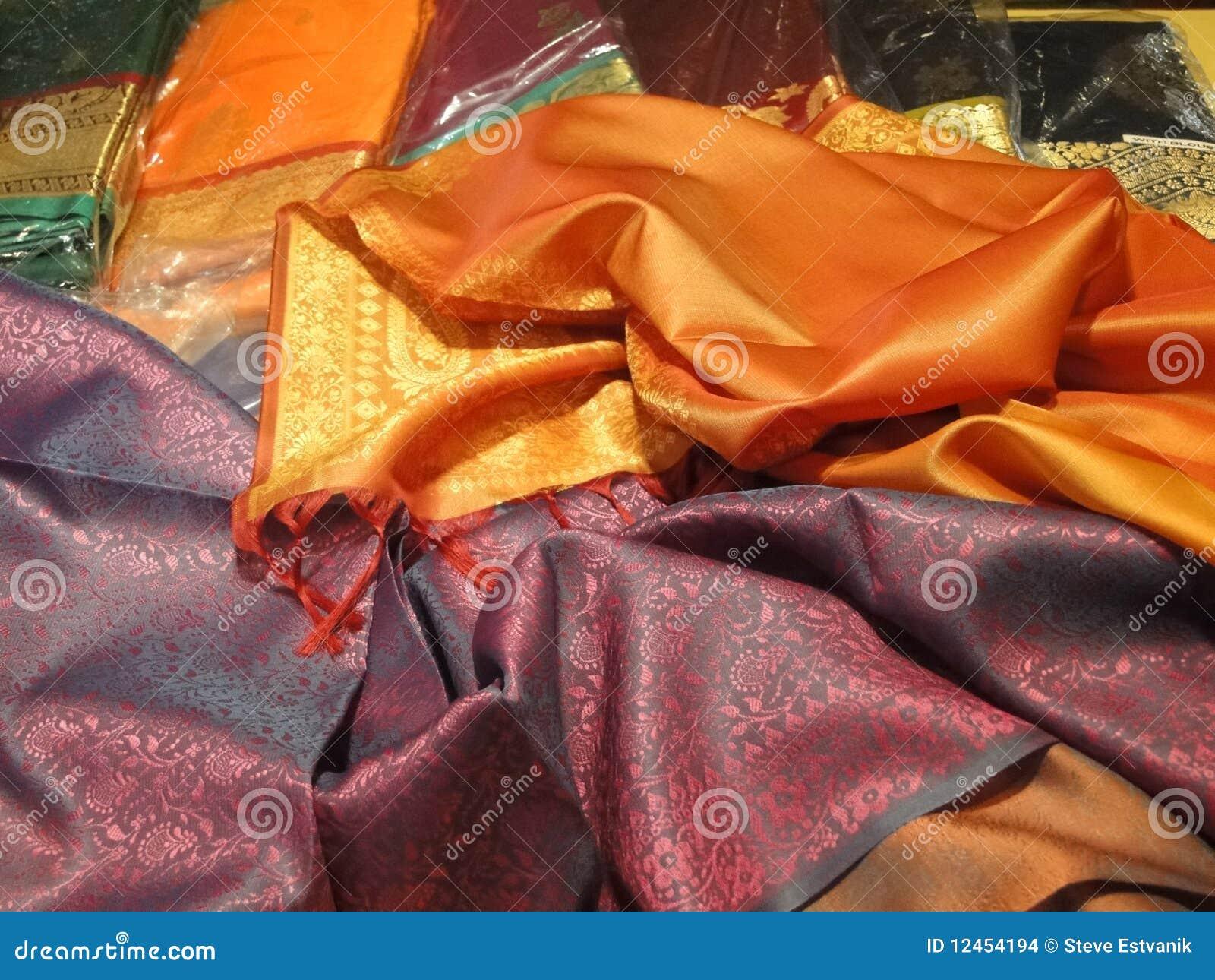 Tela de seda hermosa del brocado