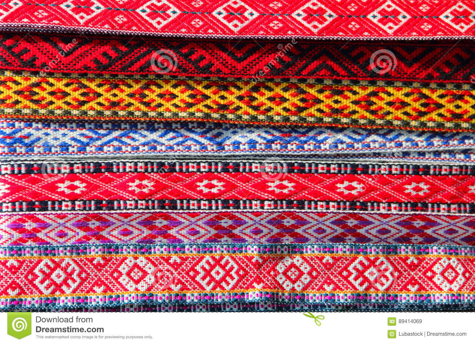 Tela decorativa tradicional