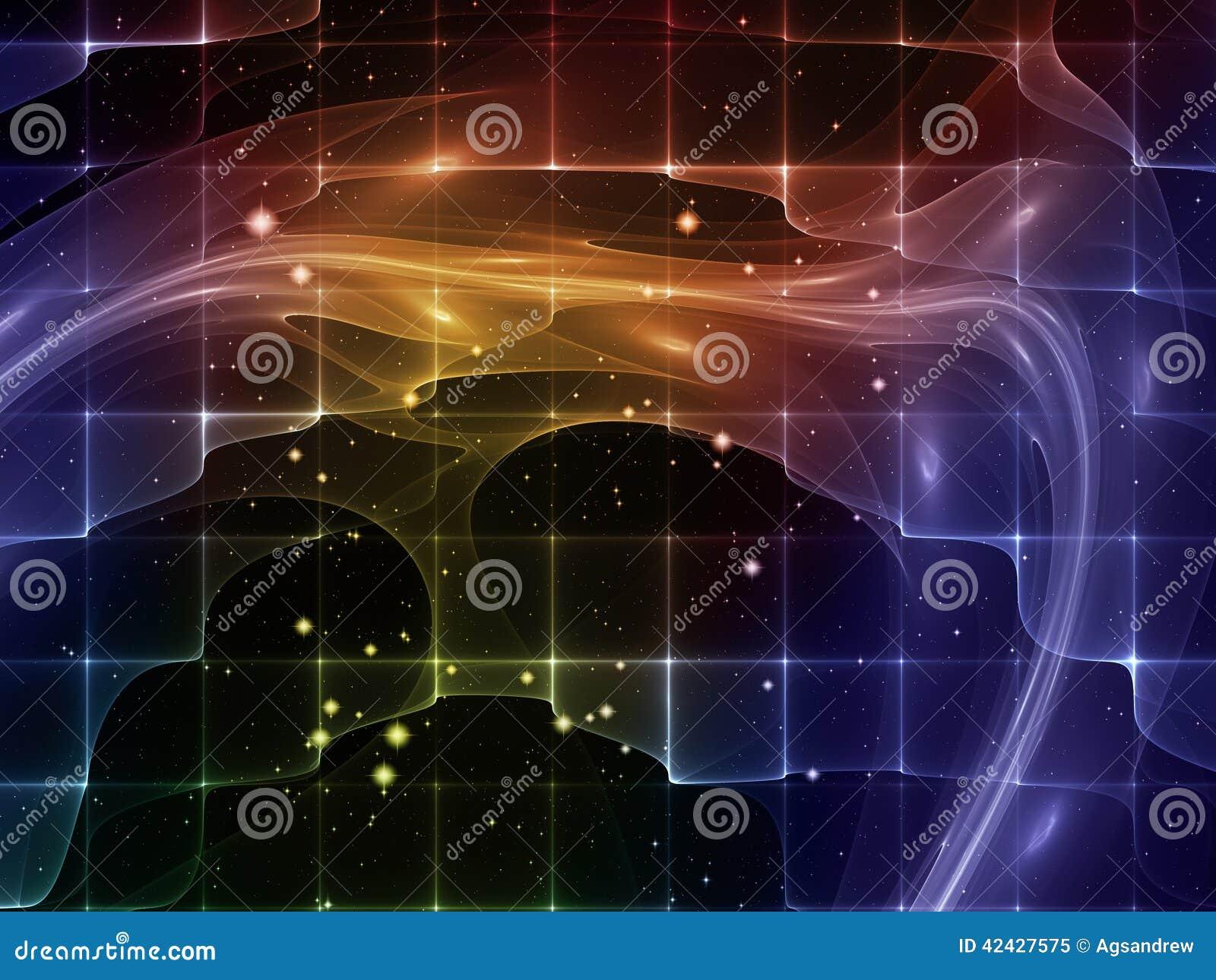 Tela del espacio